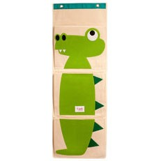 Alligator Organic Canvas Wall Organizer