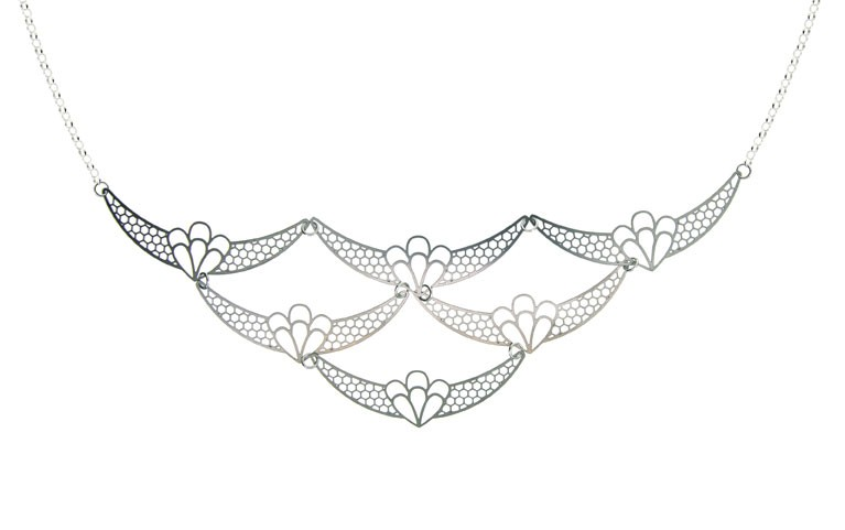 ART DECO Necklace - Medium by Polli