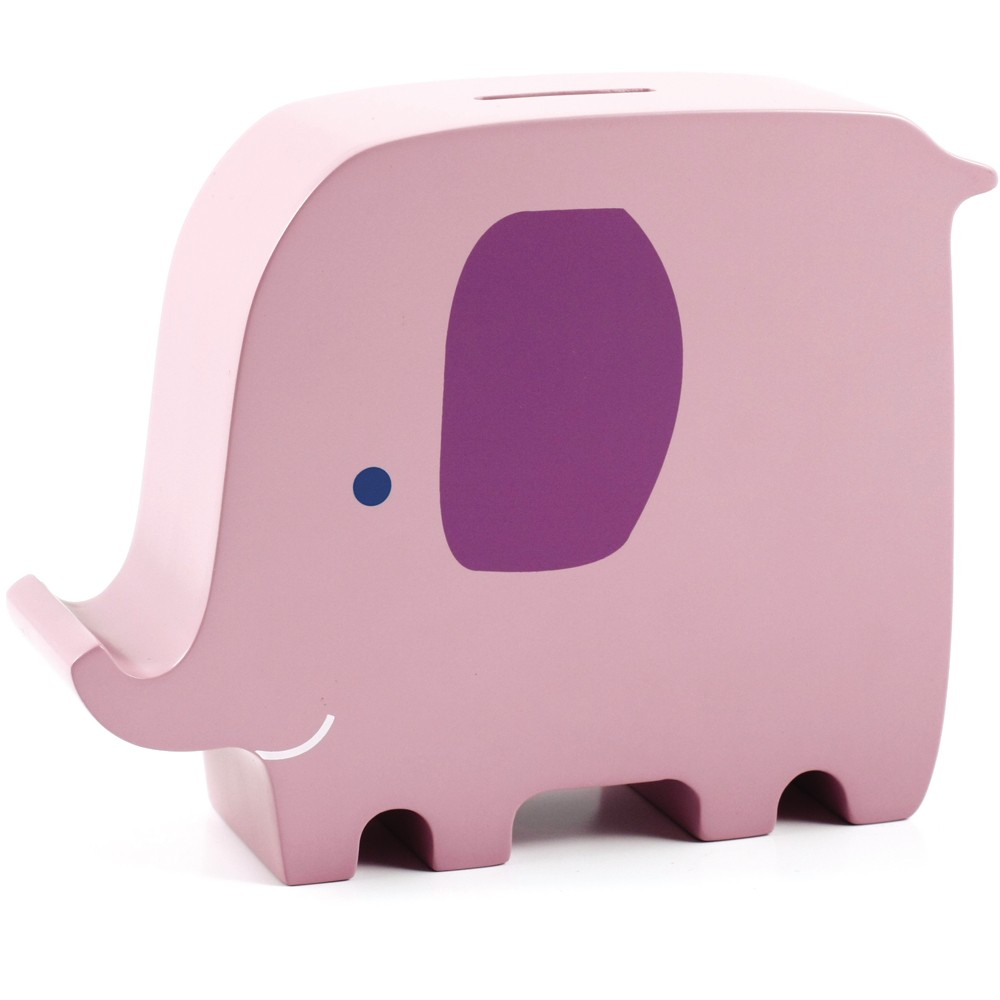 Elly Elephant Wooden Bank by Pearhead