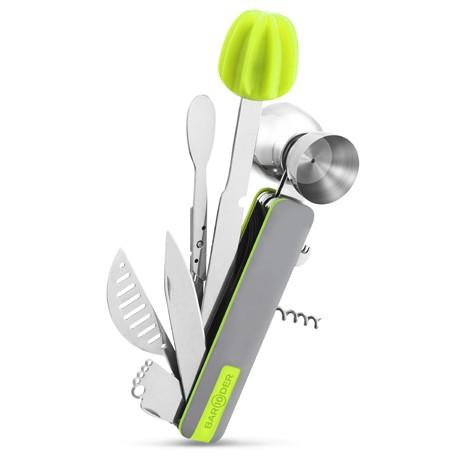 Bar10der 10-in-1 Bartending Tool - Green