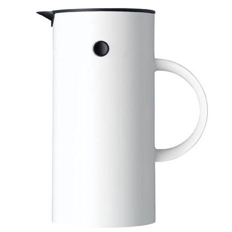 Stelton Press Coffee Maker - White