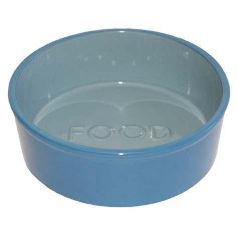Blue Ceramic Food Bowl by O.R.E.