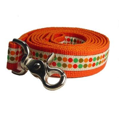 Dotty Ribbon Lead - Small