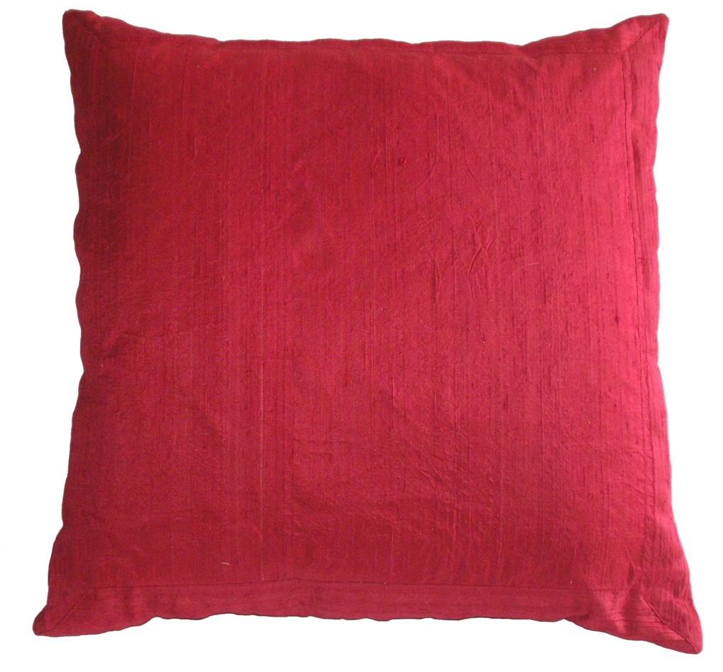Manhattan Pleated Silk Pillow