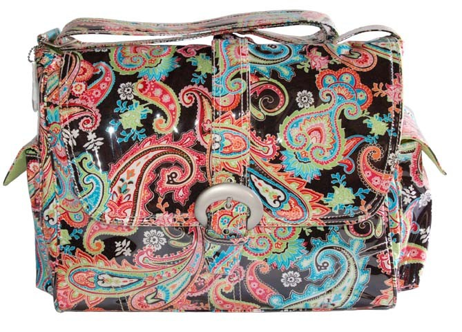 Kalencom Multi-Paisley Diaper Bag