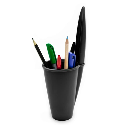J-ME Bic Pen Lid Pen Holder - Black