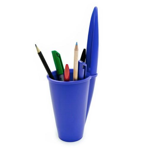 J-ME Bic Pen Lid Pen Holder - Blue
