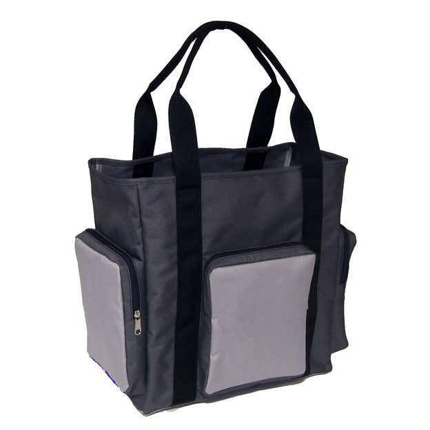 Trooper Tote Bag - Charcoal Light Gray