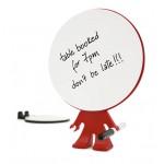 J-ME Big Head Memo Pad - Red