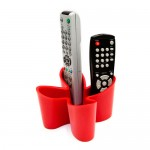 Cozy Remote Control Tidy - Red by J-me