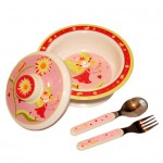 Fairy Melamine Dish Set by O.R.E.