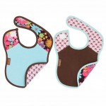Baby Jar Bib Set - Flower Power