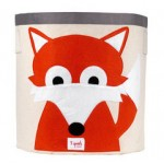 Fox Organic Canvas Storage Bin