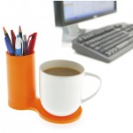 Jot Desk Coaster in Orange by J-ME