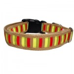 Mod Stripe Collar - Small