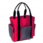 Trooper Tote Bag - Red Charcoal