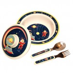 Outerspace Melamine Dish Set by O.R.E.