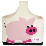 Pig Organic Canvas Storage Caddy