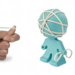 J-ME Rafael Rubber Band Holder - Aqua