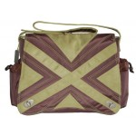 Kalencom Suedine Diaper Bag - Avocado