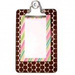 Susie Clipboard & Sweet Stripe Set - Small
