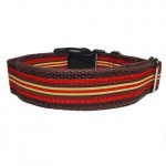 Ticking Stripe Collar - Small