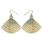 TOILE Kohl Gold Earrings by Polli
