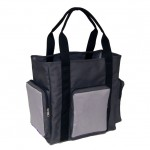 Trooper Tote Bag - Charcoal Light Gray