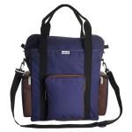 Trooper AC Tote Bag - Blue Brown