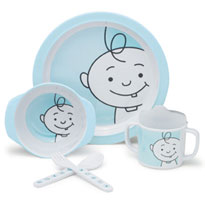 Dish Sets Bibs and Burp Cloths